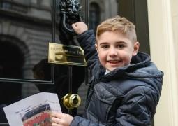 Archie Hill at No 10 Downing Street_credit Chris O'Donovan