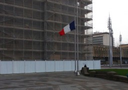 French Flag in Bfd Centenary Square