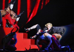 Madonna's unplanned fall at the Brit Awards