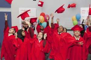 Horton Grange primary School Students Graduate