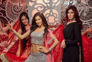 Bollywood Star Katrina Kaif Wax Figure Launch at Madame Tussauds, London, Britain - 27 March 2015
