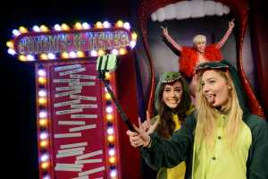 Miley Cyrus slides into Madame Tussauds London 1