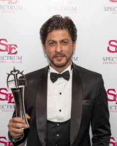 Shah Rukh Khan Award - photo credit Areez Charania