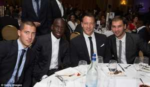 Credit, Getty Images: Past and present players unite for a charitable cause at the charity football gala in London.