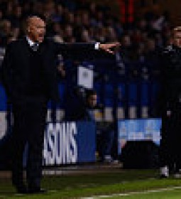 BOLTON, ENGLAND - NOVEMBER 07:  Wigan manager Uwe Rosler during the Sky Bet Championship match between Bolton Wanderers and Wigan Athletic at Macron Stadium on November 7, 2014 in Bolton, England.  (Photo by Gareth Copley/Getty Images)