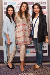 Designer Rozina Munib, Hina Rasim and Ammara Khan