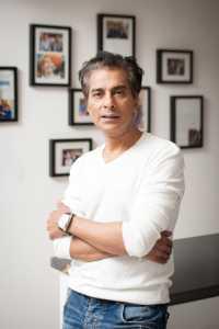 Hair stylist Asgar Saboo