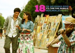 First Look: King Khan and Kajol Team Up For New Movie- Dilwale