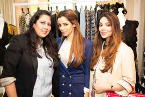 Isha Rajpal, Rose Room Couture, and guests