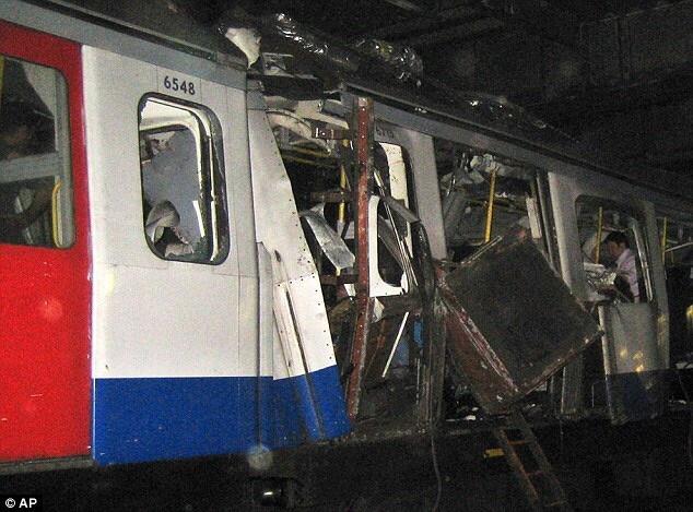 7 7 bombing train