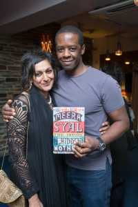 Adrian Lester and Meera Syal at the Launch of the House of Hidden Mothers