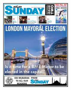 Cover Story: LONDON MAYORAL ELECTION