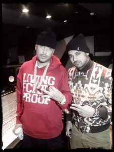 French Montana and Jaz Dhami Studio Session