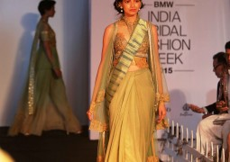 Fashion Designer Sulakshana Monga creates a buzz at BMW India Bridal Fashion Week 2015
