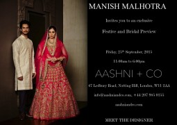 Aashni + Co presents Designer's Day with Manish Malhotra