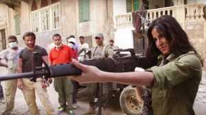 Katrina firing guns in Phantom