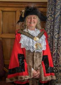 The Lord Mayor of Bradford, Coun Joanne Dodds