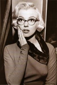 marilyn-monroe-cat-eye-glasses