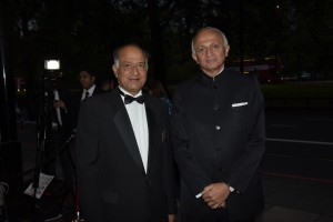 CB Patel & His Excellency Ranjan Mithai India High Commissioner - Pic Credit Shevy Sandhu