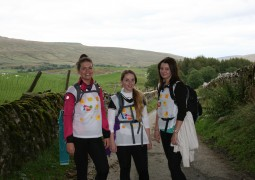 Yorkshire Building Society workers take on Three Peaks for Marie Curie