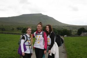 ociety colleagues Gemma Stevens, Chloe Pasquall & Kimberly Sexton take on the Yorkshire Three Peaks