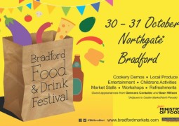 Sandy signs up for Bradford Food and Drink Festival
