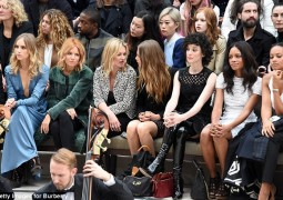 Ker-ching! The £100 million Burberry frow