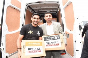 Amir Khan and Wasim Akhtar Director at Penny Appeal