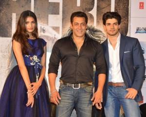 Athiya Shetty, Salman Khan and Sooraj Pancholi
