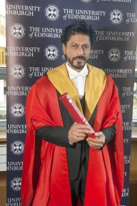 Bollywood superstar Shah Rukh Khan recieves an honorary degree from the ...