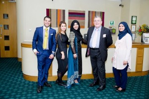 Guests at the Conservative Muslim Forum Eid Ul Adha event