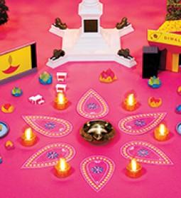 Diwali traf sq