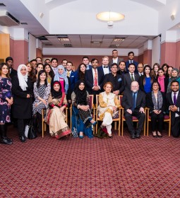 Guests at Conservative Muslim Forum Eid Ul Adha event