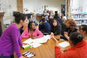 Melody training women startup and stilettos