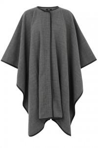 Oasis longline zip front cape