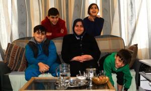 Mouna Almawas and family