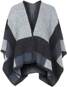 Topshop Colorblock cape