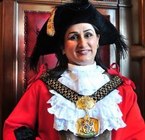 Former first Muslim female Lord Mayor, Naveeda Ikram