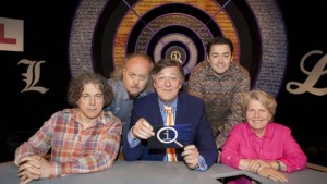 Original panellist- Alan Davies, Bill Bailey, Stephen Fry, Jason Manford joined by Sandi Toksvig
