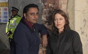 Sanjeev Bhaskar and Co-star Nicola Walker