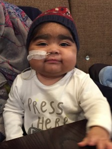 Dawud, had a rare genetic condition called HLH (haemophagocytic lymphohistiocytosis), an illness in which the body's immune cells don't work properly.