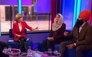 Jagmeet Singh on BBC1