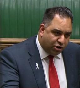 Bradford East MP Imran Hussain