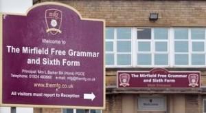Mirfield Free Grammar School Dewsbury