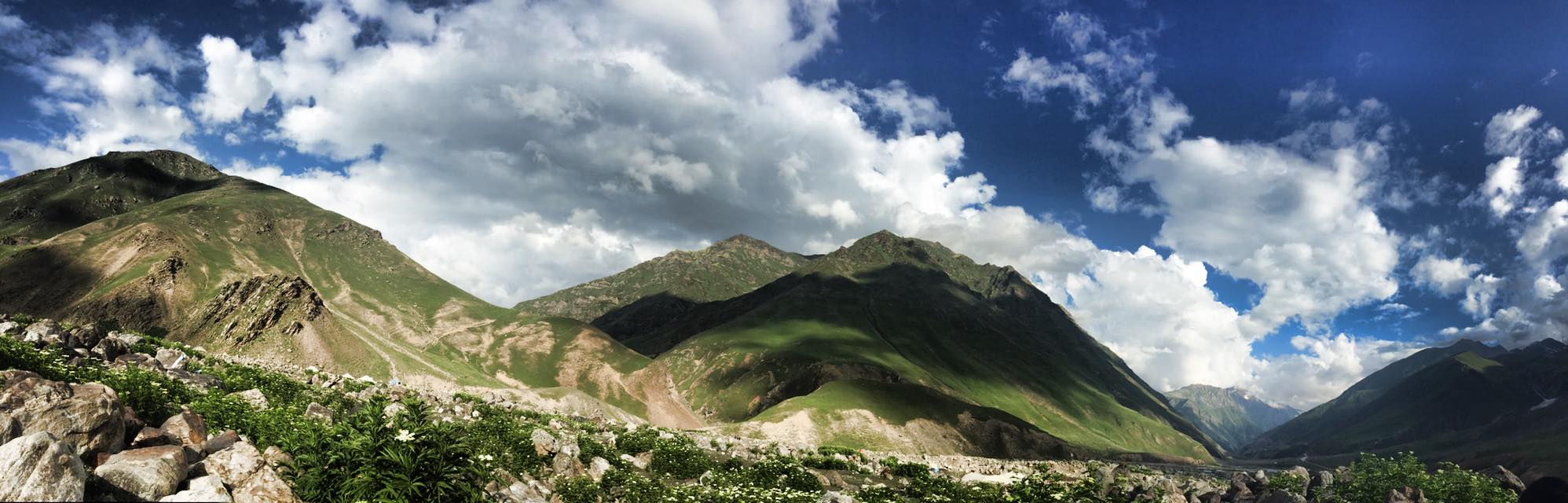 Scenic and breath taking views of Northern Pakistan
