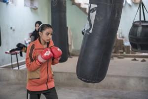 Women's boxing club in Pakistan