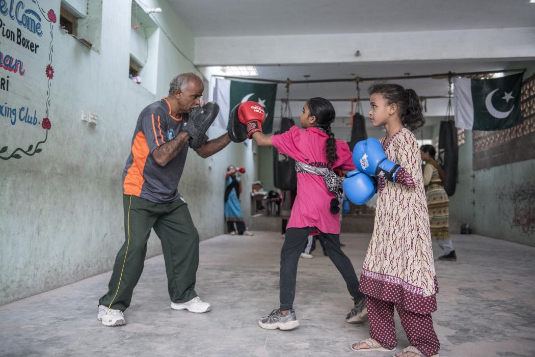 Pakistani female boxer — img 3