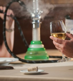 "It was pointed out that people who drink alcohol are not asked similar questions and ""alcohol is a bigger killer than shisha smoking will ever be""."