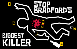 Bradford has one of the worst death rates from heart disease in England.