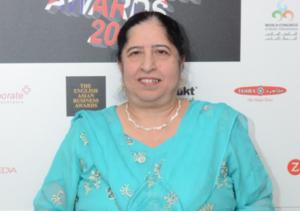 Award-winning Bushra Nasir, CBE